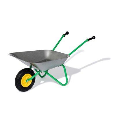 Metallschubkarre mit Luftrad