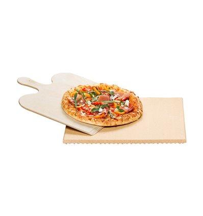 Pizzastein-Set PS 16 Viereck