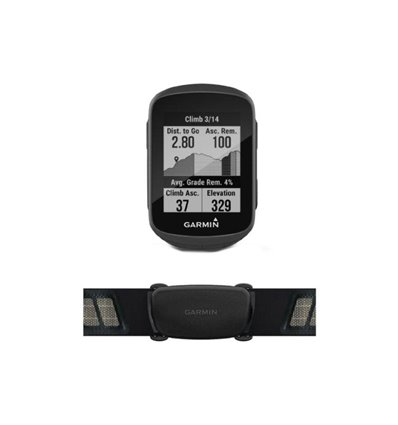 Fahrrad GPS Edge 130 Plus HR Bundle