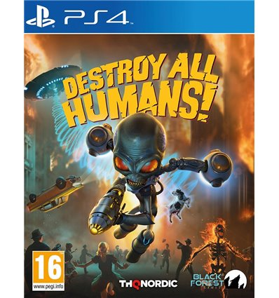 Destroy all Humans! [PS4] (F)