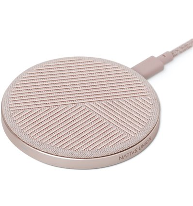 Drop (10W, Wireless Charger, Rosa)
